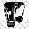 FIGHTERS - Boxhandschuhe / Giant / Schwarz / 8 oz